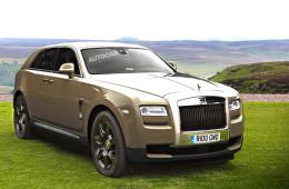 Внедорожник Rolls-Royce: новые подробности