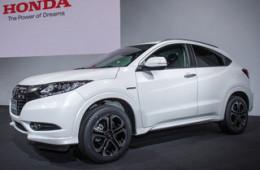 Новый кроссовер Honda доедет до России в следующем году