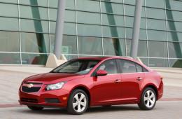 GM приостановила продажи некоторых версий Chevrolet Cruze