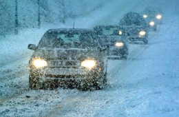 Снегопад устроил автомобилистам в Волгоградской области пробки