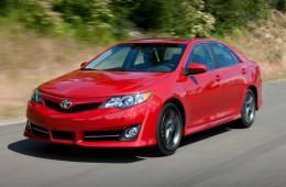 Обновлённая Toyota Camry — уже в апреле