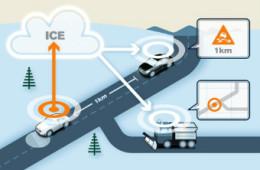 Машины Volvo расскажут друг другу о плохих дорогах