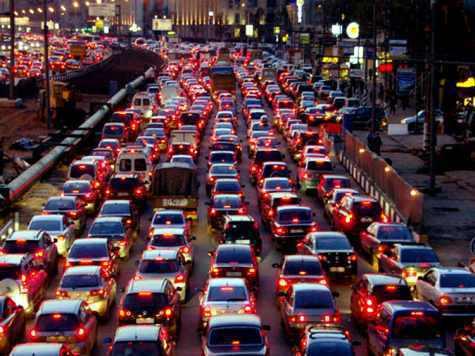 В центре Москвы максимально разрешенная скорость движения машин будет снижена