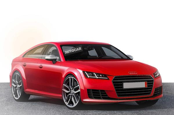 Audi TT станет семейным автомобилем