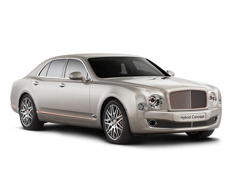 Bentley построил свой первый гибрид