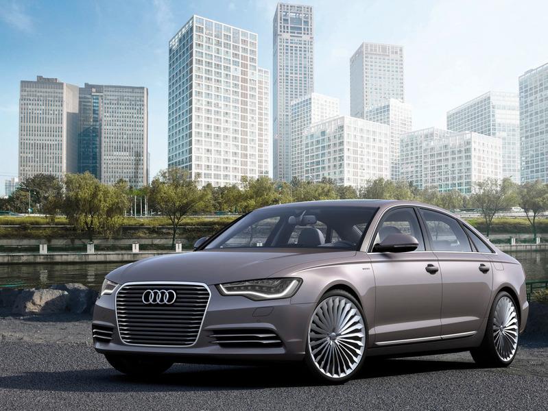 Audi выводит на рынок Китая большой гибрид