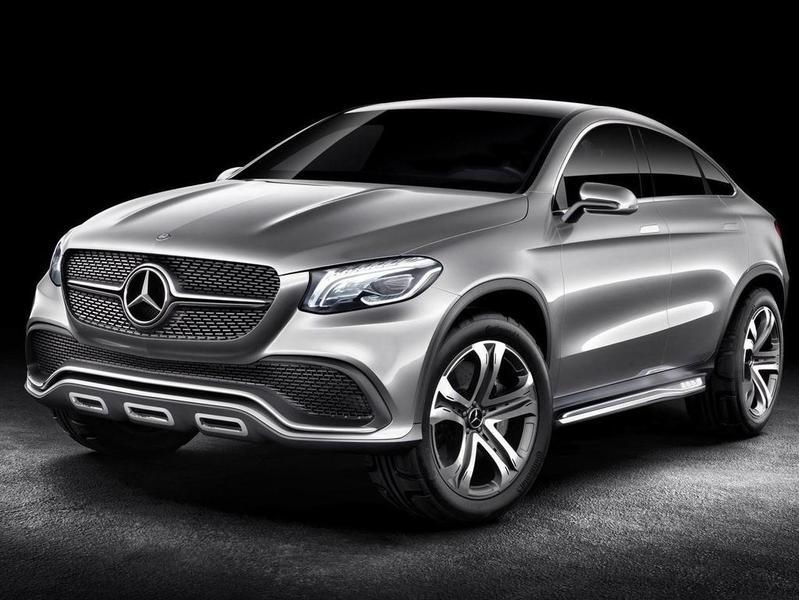 Mercedes-Benz подготовил конкурента BMW X6
