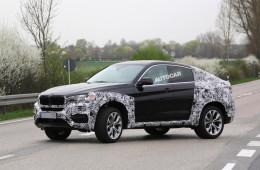 Новый BMW X6 представят на автосалоне в Москве