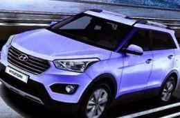 Компактный кроссовер Hyundai ix25 рассекретили до премьеры