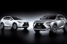 Новый маленький кроссовер Lexus: официальные фото