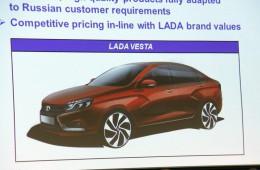 Lada Vesta будет стоить примерно 400 тысяч рублей