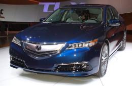 Acura выступила в Нью-Йорке с новым седаном
