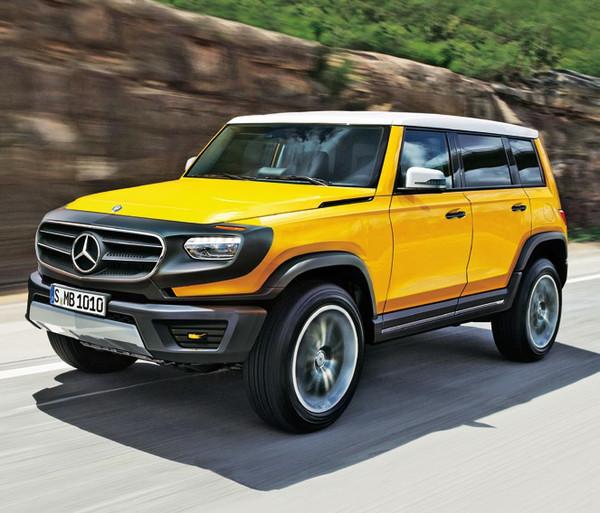 Mercedes готовит внедорожник по имени GLB