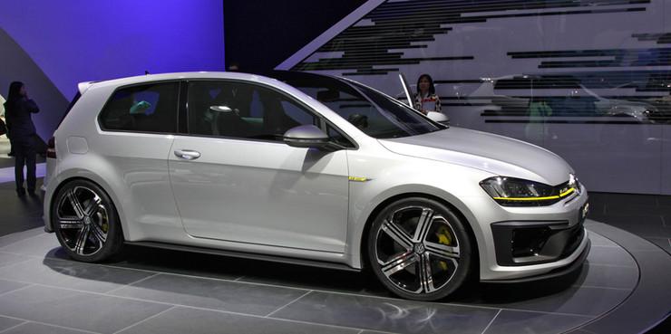 Volkswagen показал в Пекине 400-сильный Golf