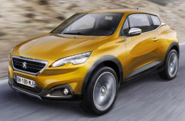 Кроссовер Peugeot 2008 лишится пары дверей