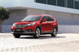 Honda назвала CR-V самым продаваемым кроссовером в мире