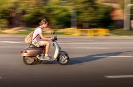 Номера для скутеров станут обязательными