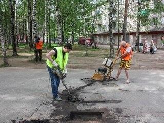 «Народный асфальт»: ремонт дорог своими силами обходится в разы дешевле