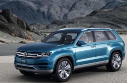 Volkswagen начнет производство семиместного кроссовера в 2016 году