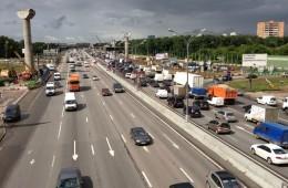Увеличение скорости на МКАД экономит городу 500 млн рублей в год