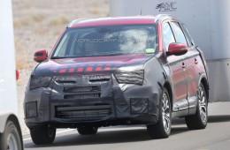 Mitsubishi Outlander на пороге обновления