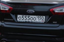 ГИБДД может начать продажу «красивых» номеров в 2015 году