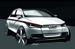 Audi собирается выпустить компактный электромобиль A2Q