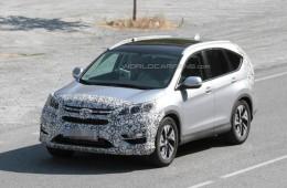 Рестайлинг Honda CR-V — уже скоро