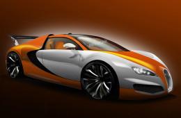 Наследник Bugatti Veyron разгонится до 460 км/ч