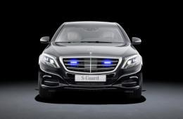 Mercedes-Benz официально представил бронированный S-класс