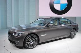 Новая заднеприводная платформа BMW дебютирует на седане 7 серии