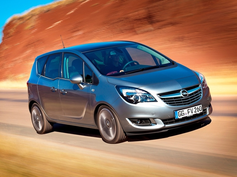 Компактвэны Opel станут похожи на кроссоверы