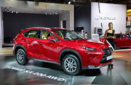 Lexus организовал в Москве европейскую премьеру кроссовера NX