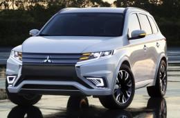 Новый облик Mitsubishi Outlander