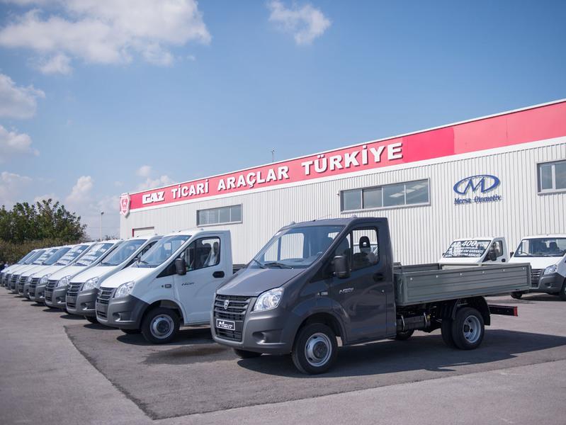 ГАЗель Next будут выпускать и продавать в Турции