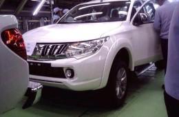 Mitsubishi готовит новый L200
