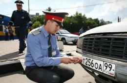 Совет Федерации запретил инспекторам снимать автономера