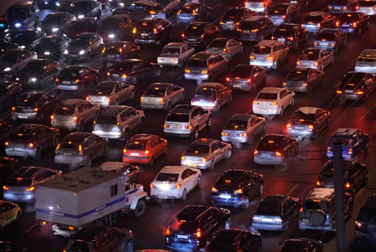 Россия заняла пятое место в мире по количеству автомобилей
