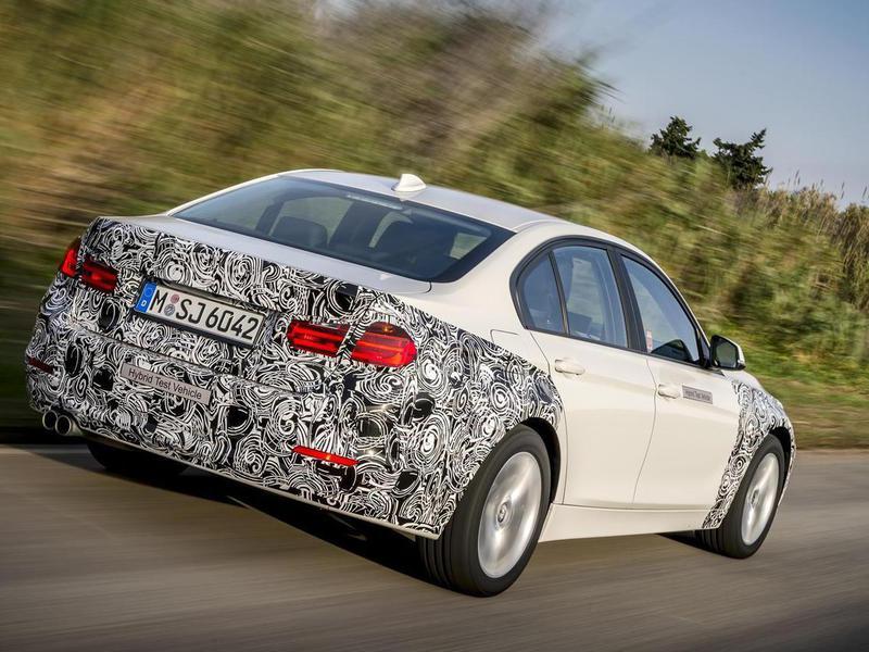 BMW рассекретила «трешку» с расходом в 2 л на 100 км