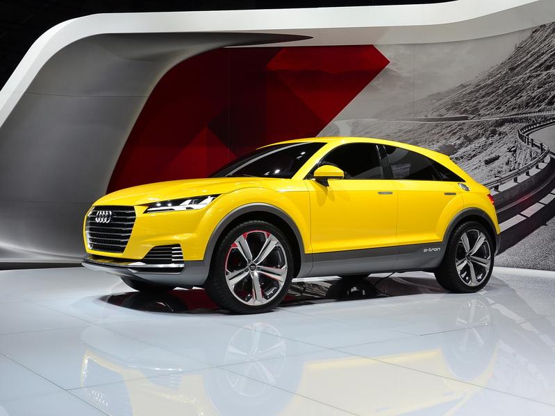 Вседорожная Audi TT станет серийной на радость клиентам марки