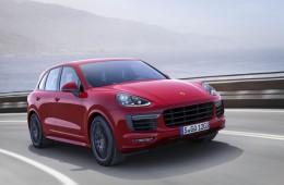 Porsche рассекретила обновленный Cayenne GTS