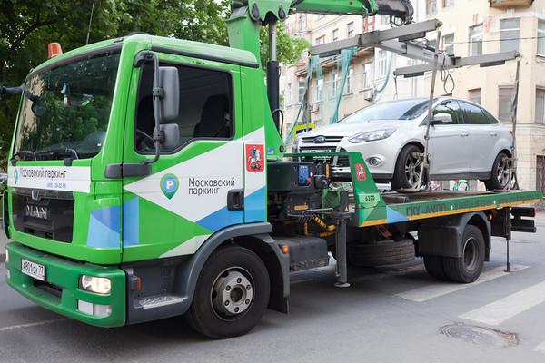 Московские власти запретили пробег против платной эвакуации