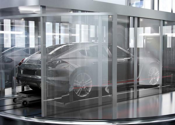 Неизвестная модель Porsche «засветилась» в сети