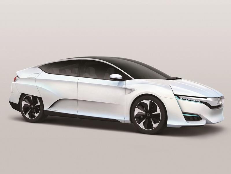 Honda доработала свой «водородомобиль»