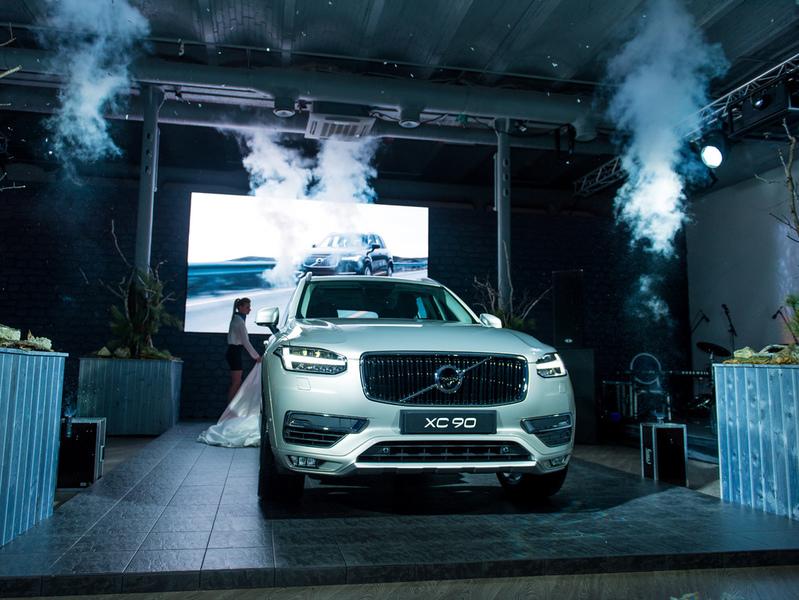 Volvo представил в Москве новый XC90