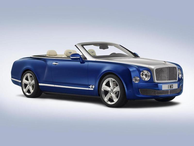 Bentley рассекретила концептуальный кабриолет