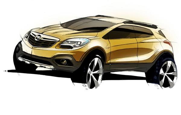 Новый кроссовер Opel станет флагманом марки