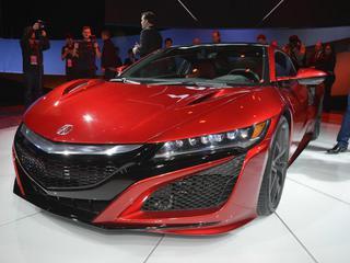 Суперкар Acura NSX наконец доехал до конвейера
