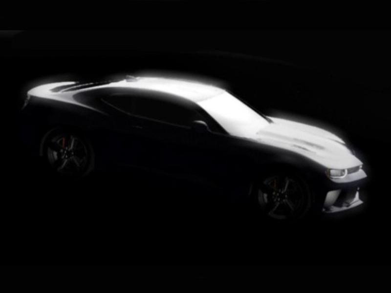 Новый Chevrolet Camaro будет очень похож на старый