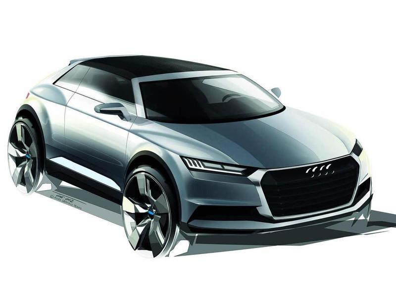 Работа над флагманским кроссовером Audi идет полным ходом